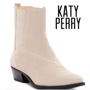 Katy Perry Light Tan Bootie Size 9M